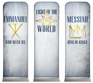 Light of the World Star 2 x 6 Sleeve Banner