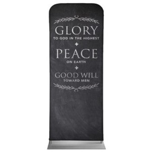 Glory Peace Goodwill Banners