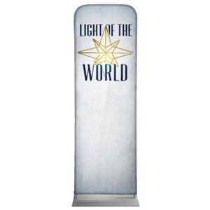 Light of the World Star M 2 x 6 Sleeve Banner