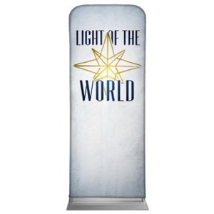 "Light of the World Star M 2'7"" x 6'7"" Sleeve Banners"