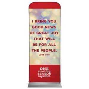 One Amazing Season Luke 2:10 Banners