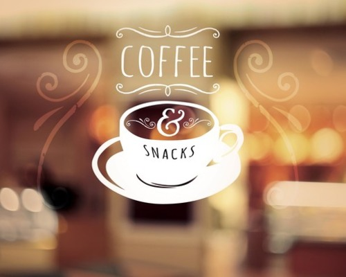 coffee and snacks banner - church banners