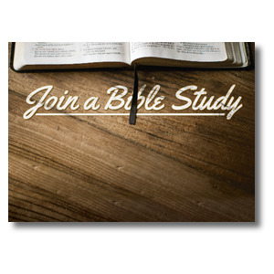 Join a Bible Study Banners