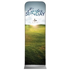Easter Hillside 2 x 6 Sleeve Banner