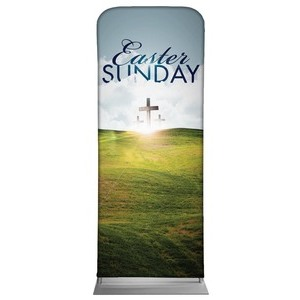 "Easter Hillside 2'7"" x 6'7"" Sleeve Banners"