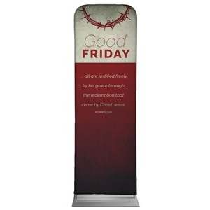 Color Block Good Friday 2 x 6 Sleeve Banner