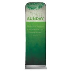 Color Block Palm Sunday Banner