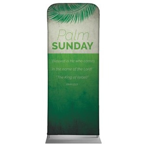 "Color Block Palm Sunday 2'7"" x 6'7"" Sleeve Banners"