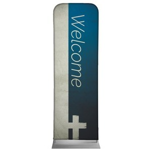 Color Block Welcome 2 x 6 Sleeve Banner