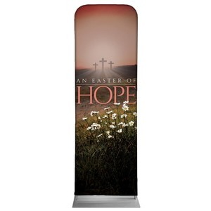 Easter Hope Daisy 2 x 6 Sleeve Banner
