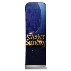 Easter Sunday Blue Tomb Banner