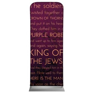 Holy Words Crucifixion Banners