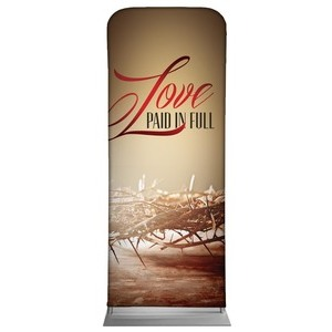 "Love Paid in Full 2'7"" x 6'7"" Sleeve Banners"