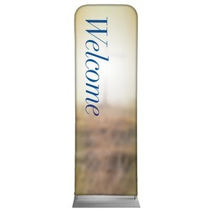 Traditions Welcome 2 x 6 Sleeve Banner
