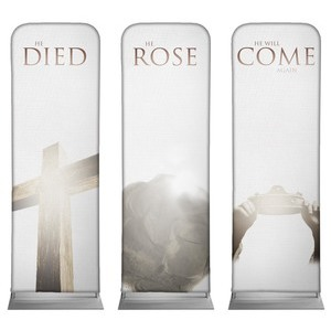 Truth Triptych 2 x 6 Sleeve Banner