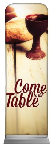 Banners, Communion, Come to the Table , 2' x 6'
