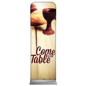 Come to the Table  2 x 6 Sleeve Banner