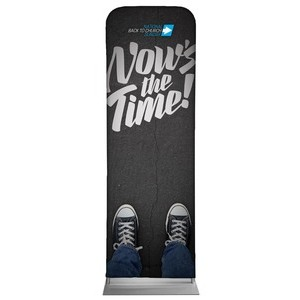 Back to Church Sunday: Nows the Time 2 x 6 Sleeve Banner