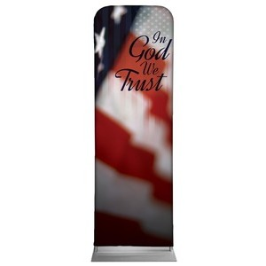 God We Trust 2 x 6 Sleeve Banner
