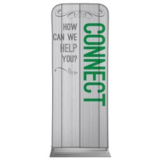 Painted Wood Connect Banner