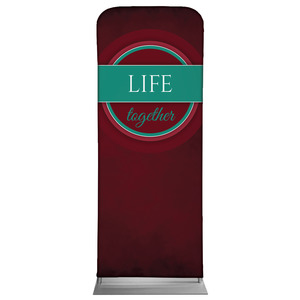"Together Circles Life 2'7"" x 6'7"" Sleeve Banners"