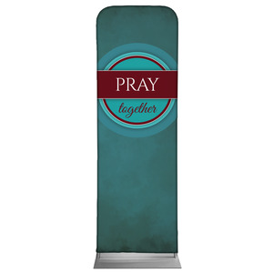 Together Circles Pray 2 x 6 Sleeve Banner