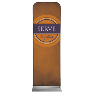 Together Circles Serve 2 x 6 Sleeve Banner