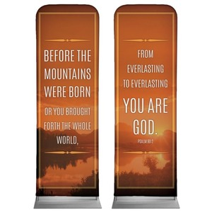 Before The Mountains 2 x 6 Sleeve Banner