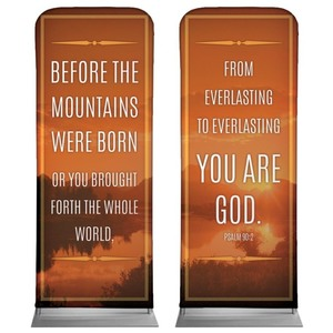 "Before The Mountains 2'7"" x 6'7"" Sleeve Banners"