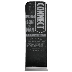 Chalkboard Art Connect 2 x 6 Sleeve Banner