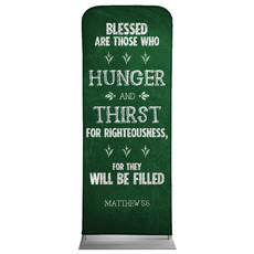 Chalkboard Art Green Banner