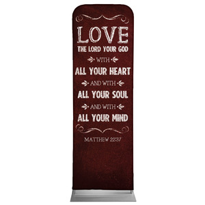 Chalkboard Art Red 2 x 6 Sleeve Banner