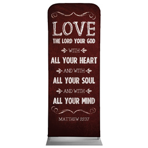 "Chalkboard Art Red 2'7"" x 6'7"" Sleeve Banners"