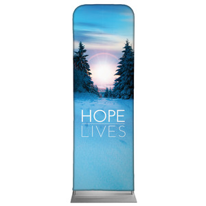 Hope Lives 2 x 6 Sleeve Banner