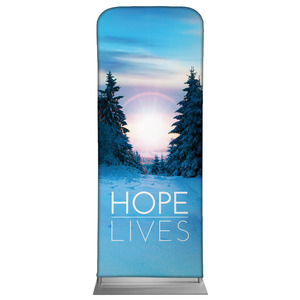 "Hope Lives 2'7"" x 6'7"" Sleeve Banners"