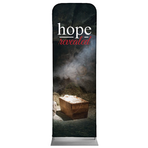 Hope Revealed Manger 2 x 6 Sleeve Banner