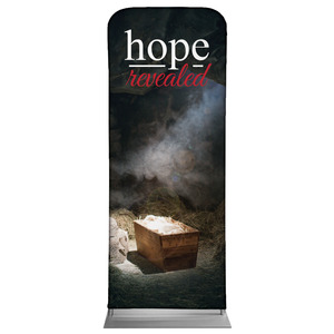 "Hope Revealed Manger 2'7"" x 6'7"" Sleeve Banners"