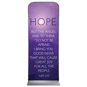 "Advent Luke 2 Hope 2'7"" x 6'7"" Sleeve Banners"