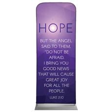 Advent Luke 2 Hope Banner