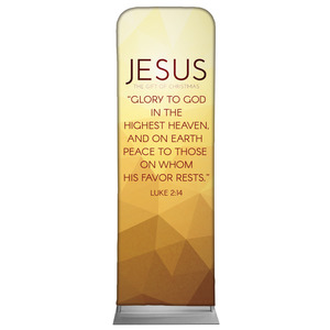 Advent Luke 2 Jesus 2 x 6 Sleeve Banner