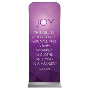Advent Luke 2 Joy Banners