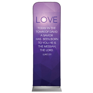Advent Luke 2 Love Banners