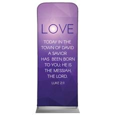 Advent Luke 2 Love Banner