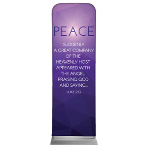 Advent Luke 2 Peace 2 x 6 Sleeve Banner