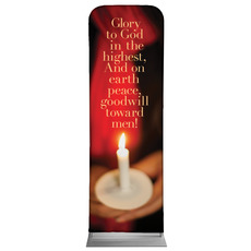 Glory to God Candle