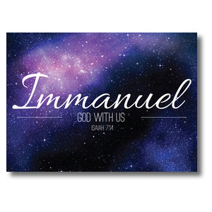 Immanuel Isaiah 7:14 Banners