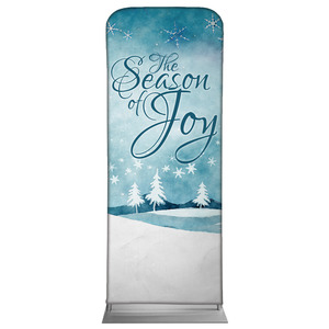 "Season of Joy 2'7"" x 6'7"" Sleeve Banners"