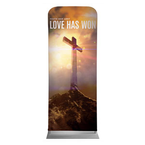 "Love Has Won 2'7"" x 6'7"" Sleeve Banners"