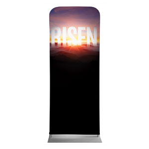"Mountain Risen 2'7"" x 6'7"" Sleeve Banners"