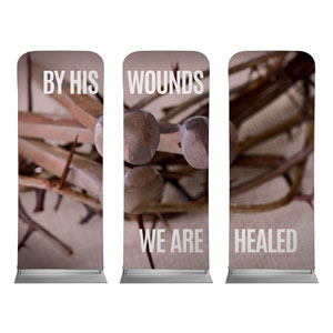 By His Wounds Banners